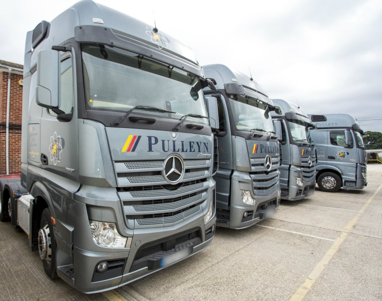 Pulleyn's 55-vehicle fleet ranges