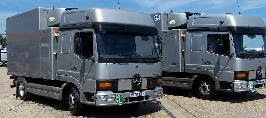 Pulleyn Transport 7.5T vehicles for sale